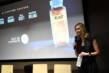 Liz Gateley Lifetime And NeueHouse Women's Forum Present FLINT With Cast and Real Life Residents