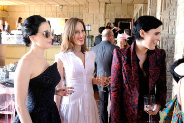 Liz Goldwyn M.A.C Cosmetics with Zac Posen Luncheon at the Ennis House