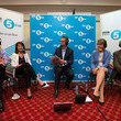 Liz Kendall Labour Leadership Candidates Attend BBC Radio 5Live Hustings
