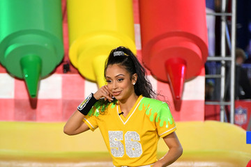 Liza Koshy Nickelodeon's Double Dare Takes The Gridiron At Super Bowl LIII