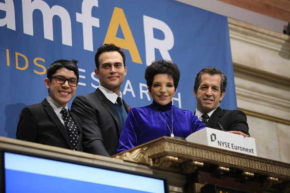 amfAR Rings The NYSE Opening Bell In Recognition Of World AIDS Day - November 30, 2010