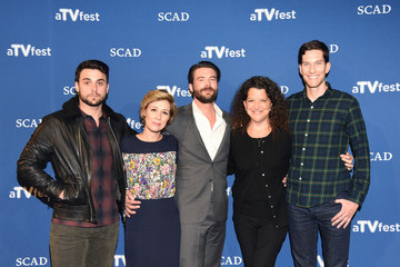 Liza Weil Jack Falahee SCAD Presents aTVfest  2016 - 'How To Get Away With Murder'