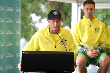 Lleyton Hewitt Official Draw: Davis Cup World Group First Round - Australia v Germany