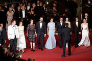 "John C. Reilly,Angeliki Papoulia,Ariane Labed,Yorgos Lanthimos,Léa Seydoux,Colin Farell,Rachel Weisz,Ben Whishaw and Jessica Barden attend the Premiere of ""The Lobster"" during the 68th annual Cannes Film Festival on May 15, 2015 in Cannes, France."