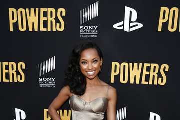 Logan Browning 'Powers' Premiere