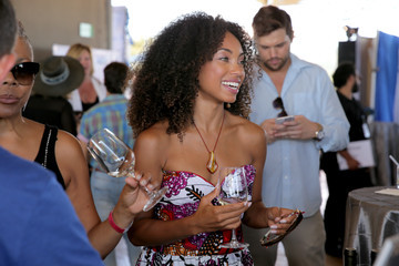Logan Browning Pilot Pen & GBK Celebration Lounge - Day 2