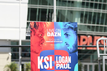 Logan Paul KSI vs Logan Paul 2 - Launch Press Conference