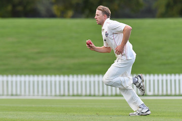 Logan van Beek Plunket Shield: Canterbury v Otago Volts