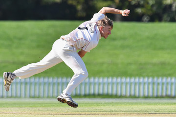 Logan van Beek Plunket Shield: Canterbury v Wellington