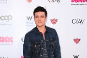 "Actor Josh Hutcherson attends Logo's ""NewNowNext Awards"" 2012 at Avalon on April 5, 2012 in Hollywood, California."