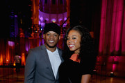 """Sway Calloway and Kayoni Calloway attend Logo TV's """"Trailblazers"""" at the Cathedral of St. John the Divine on June 25, 2015 in New York City."""