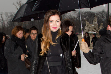 Lola Karimova Christian Dior: Outside Arrivals - Paris Fashion Week Haute-Couture Spring/Summer 2013