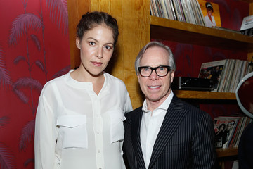 Lola Montes Schnabel Tommy Hilfiger Celebrates a New Launch in NYC