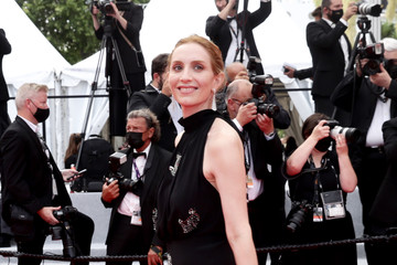 """Lolita Chammah """"Les Intranquilles (The Restless)"""" Red Carpet - The 74th Annual Cannes Film Festival"""