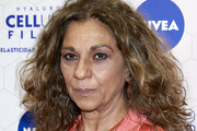 Lolita Flores attends Nivea photocall on April 02, 2019 in Madrid, Spain.