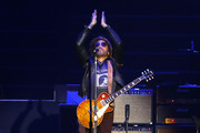 Lenny Kravitz performs during day 1 of Lollapalooza Chile 2019 at parque O'higgins on March 29, 2019 in Santiago, Chile.