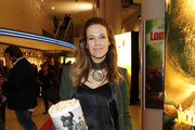 Alexandra Neldel attends the premiere of the film 'Lommbock' at Cinedom on March 14, 2017 in Cologne, Germany.
