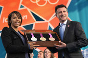Sebastian Coe and Dame Kelly Holmes Photos Photo