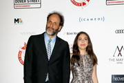 Luca Guadagnino (L) attends the London Film Critics Circle Awards 2018 at The Mayfair Hotel on January 28, 2018 in London, England.
