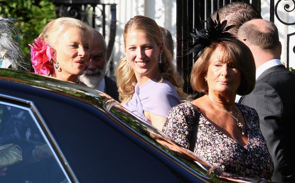 Annabel Goldsmith In Lord Frederick Windsor Amp Sophie