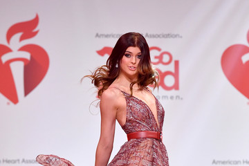 Loren Gray The American Heart Association's Go Red For Women Red Dress Collection 2020 - Runway