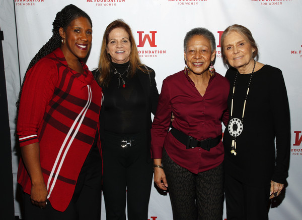 Ms. Foundation For Women's 24th Comedy Night At Carolines On Broadway [red,event,premiere,team,teresa c. younger,gloria steinem,lori sokol,alice dear,ms. foundation for women president,carolines on broadway,new york city,ms. foundation for womens 24th comedy night,ms. foundation for women founding,gloria steinem,camilla barungi,lori sokol,livingly media,photograph,image,ms. foundation for women]