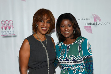 Lori Stokes Arrivals at the Breast Cancer Foundation Benefit