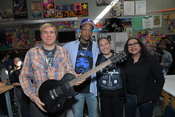 Wiz Khalifa & National Non-profit Little Kids Rock Partner To Bring Music Education To Public School Students