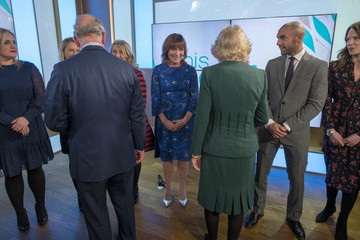 Lorraine Kelly The Prince of Wales and the Duchess of Cornwall Visit the Royal Television Society
