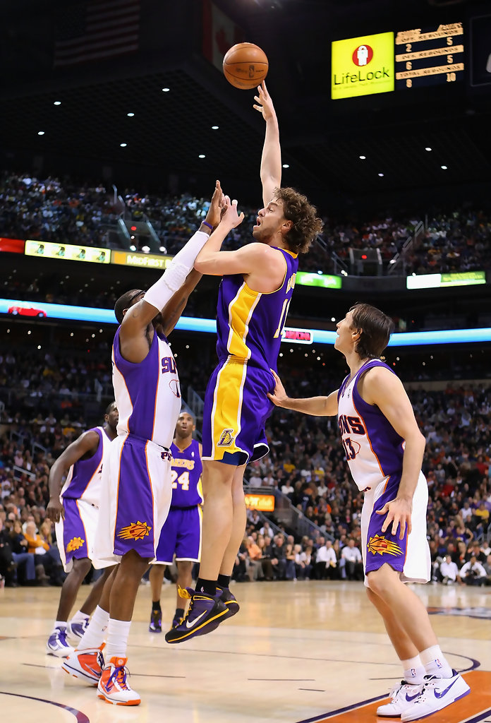 los angeles lakers phoenix suns
