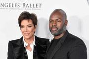 Kris Jenner (L) and Corey Gamble arrive at the Los Angeles Ballet Gala 2020 at The Broad Stage on February 28, 2020 in Santa Monica, California.