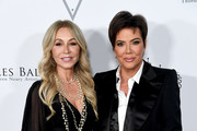 Anastasia Soare (L) and Kris Jenner arrive at the Los Angeles Ballet Gala 2020 at The Broad Stage on February 28, 2020 in Santa Monica, California.
