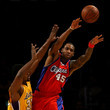 Rasual Butler and Metta World Peace Photos