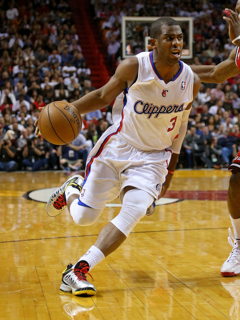 Chris Paul in Los Angeles Clippers v Miami Heat - Zimbio