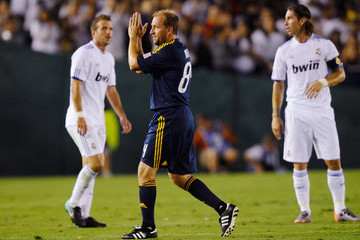 Clint Mathis Los Angeles Galaxy v Real Madrid