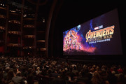Cast & Crew of Avengers: Infinity War' attend the Los Angeles Global Premiere for Marvel Studios' Avengers: Infinity War on April 23, 2018 in Hollywood, California.