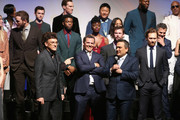 Directors Anthony Russo and Joe Russo and cast & crew of 'Avengers: Infinity War' attend the Los Angeles Global Premiere for Marvel Studios' Avengers: Infinity War on April 23, 2018 in Hollywood, California.