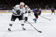Robyn Regehr #44 of the Los Angeles Kings skates against the Colorado Avalanche at Pepsi Center on March 10, 2015 in Denver, Colorado. The Kings defeated the Avalanche 5-2.