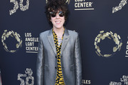 """LP attends Los Angeles LGBT Center Celebrates 50th Anniversary With """"Hearts Of Gold"""" Concert & Multimedia Extravaganza at The Greek Theatre on September 21, 2019 in Los Angeles, California."""