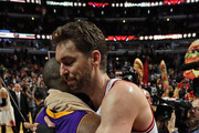 Kobe Bryant and Pau Gasol Photos Photo