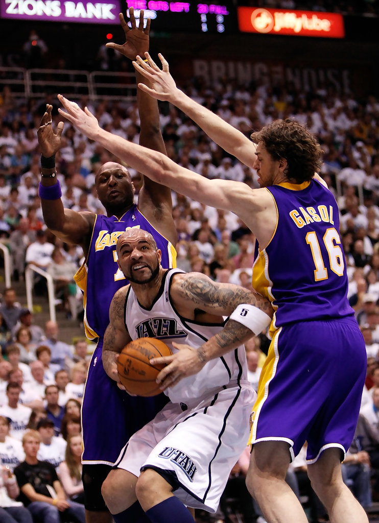 Carlos Boozer Photos Photos - Los Angeles Lakers v Utah ...