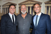 Actor Rob Reiner (C) and filmmakers Ben Cotner (L) and Ryan White (R) attend os Angeles Premiere Of HBO Documentary 'The Case Against 8' at Directors Guild Of America on June 3, 2014 in Los Angeles, California.