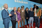 """(L-R) Zac Efron, Jimmy Buffett, Isla Fisher, Matthew McConaughey, Stefania LaVie Owen, Harmony Korine and Snoop Dogg attend the premiere of Neon and Vice Studio's """"The Beach Bum"""" at ArcLight Hollywood on March 28, 2019 in Hollywood, California."""