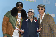 """(L-R) Snoop Dogg, Jimmy Buffett and Matthew McConaughey attends the Los Angeles premiere of Neon and Vice Studio's """"The Beach Bum"""" at ArcLight Hollywood on March 28, 2019 in Hollywood, California."""