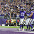 Blake Bell Latavius Murray Photos - Latavius Murray #25 of the Minnesota Vikings celebrates after scoring a touchdown in the second quarter of the game against the Los Angeles Rams on November 19, 2017 at U.S. Bank Stadium in Minneapolis, Minnesota. - Los Angeles Rams v Minnesota Vikings