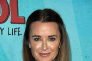 """Television celebrity Kyle Richards attends the Los Angeles Red Carpet Screening of """"Middle School"""" in Hollywood, California, on October 5, 2016. / AFP / VALERIE MACON"""