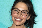 """Actress Sarah Shahi attends the Los Angeles Red Carpet Screening of """"Middle School"""" in Hollywood, California, on October 5, 2016. / AFP / VALERIE MACON"""