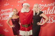 "Kristin Chenoweth and Michelle Vicary  arrive at the Los Angeles special screening of Hallmark Channel's ""A Christmas Love Story"" at Montage Beverly Hills on October 21, 2019 in Beverly Hills, California."