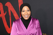 Ibtihaj Muhammad attends the World Premiere of Disney's 'MULAN' at the Dolby Theatre on March 09, 2020 in Hollywood, California.