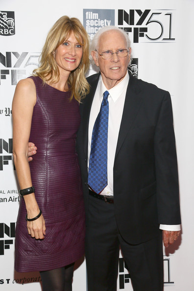 "Actor Bruce Dern (L) and actress Laura Dern attend the ""Nebraska"" premiere during the 51st New York Film Festival at Alice Tully Hall at Lincoln Center on October 8, 2013 in New York City."